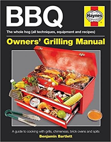 Haynes BBQ Manual (Hardback) - Author signed