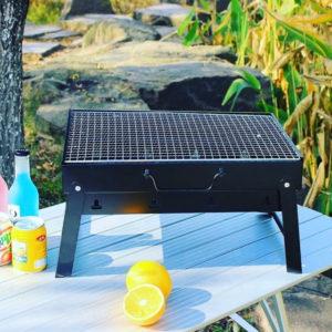 Portable Briefcase BBQ Grill